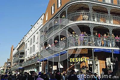 New Orleans Mardi Gras 2010 Editorial Photo
