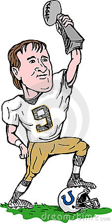 New Orleans Saints super bowl Editorial Stock Image