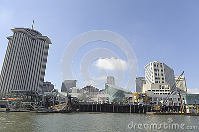 New Orleans skyline Editorial Stock Photo