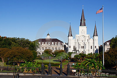 New Orleans State Museum St Louis Cathedral 2