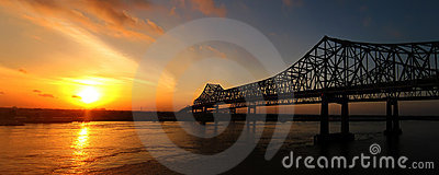 New Orleans Sunrise