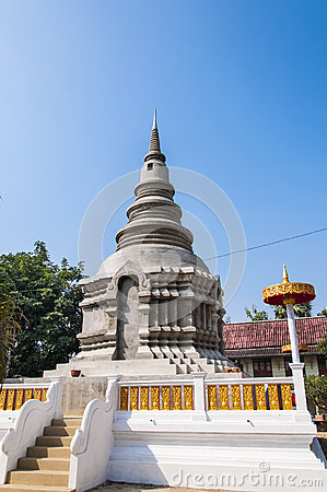 New pagoda structure in thailand