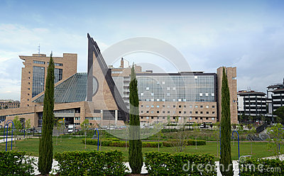 New Palace of Justice - Florence Editorial Stock Photo