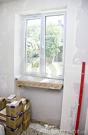 New plastic window