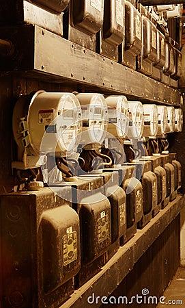 New Power Meters in Old setting vertical