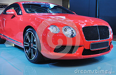 New red bently