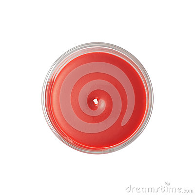 Free New Red Candle Isolated Royalty Free Stock Photo - 64889635