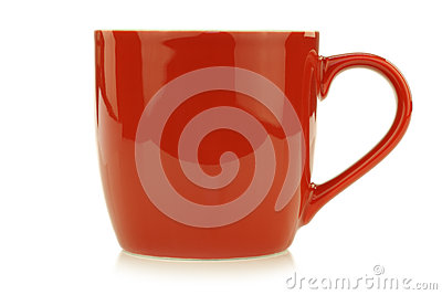 New red mug