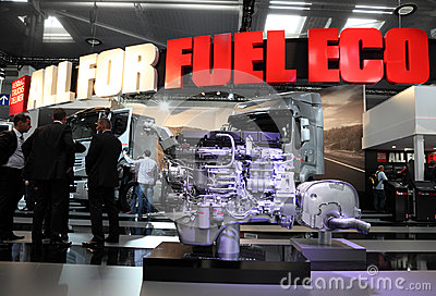 New Renault Truck Engine Editorial Image