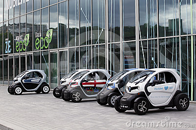 New renault twizy Editorial Image