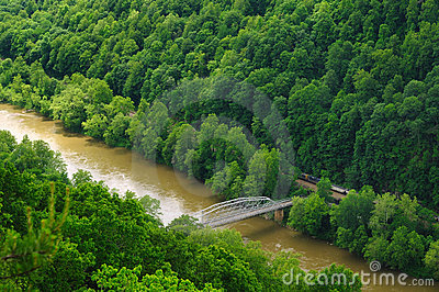 New River Gorge train
