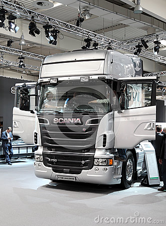 New Scania R730 Truck Editorial Stock Image