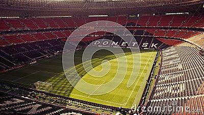 New Shakhtar s soccer stadium in Donetsk, Ukraine Editorial Stock Image