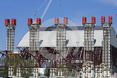 The new shelter for reactor unit 4 (Chernobyl Nuclear Power Plant)
