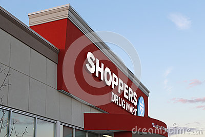 New Shoppers Drug Mart store Editorial Stock Photo