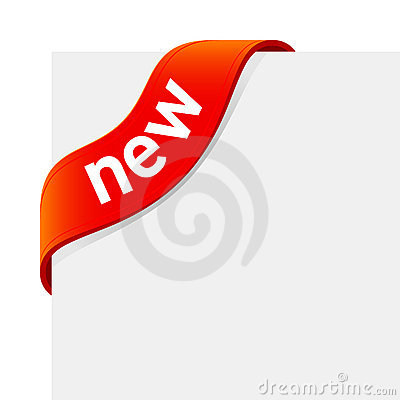 «New» sign