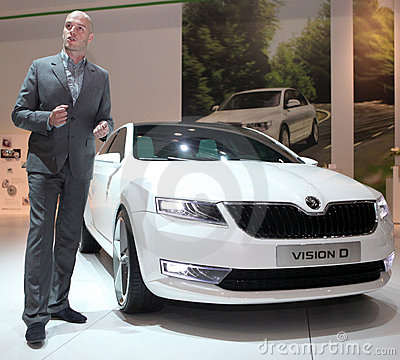 New skoda design Editorial Image