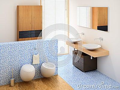 New small bathroom
