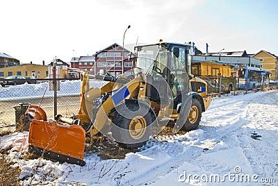 New snow plow.