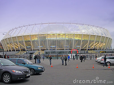 New sport olympic stadium in kiev, football, Editorial Photography