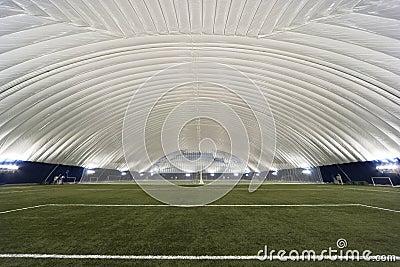 New Sports Dome interior