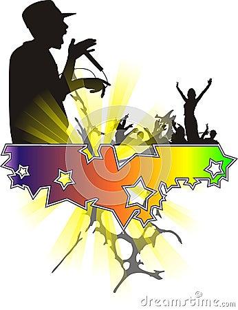 Free New Stars Night Dance 2 Royalty Free Stock Image - 5507776