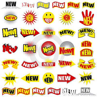 Free New Stickies Stock Images - 2781584