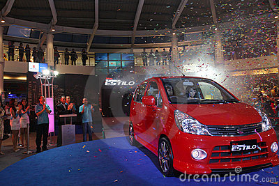New Suzuki Karimun Estilo Launching Editorial Stock Photo