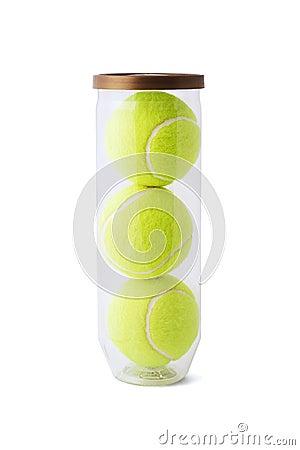 Free New Tennis Balls Stock Image - 6180101