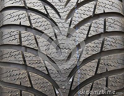 New tire treads