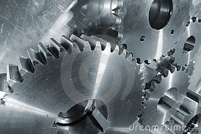 New titanium and steel gears