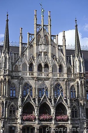 New Town Hall, Munich, Bavaria, South-Germany