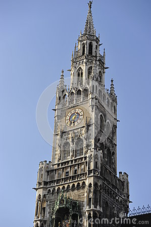 New Town Hall s Tower, Munich, Bavaria, Germany
