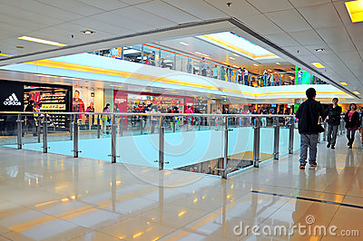 New town plaza, shatin, hong kong Editorial Stock Photo