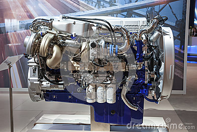 New VOLVO Diesel Engine D16 Euro 6 Editorial Stock Image - Image: 45108994