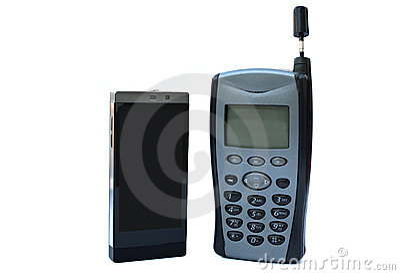 New vs old phone