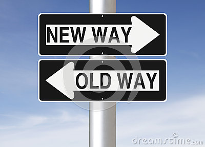 New Way Versus Old Way Royalty Free Stock Image - Image ... Key To Success Clipart