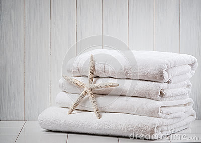 New White Towels