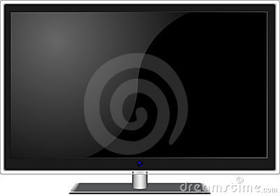 New widescreen TV