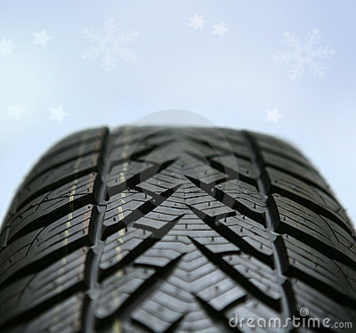 Free New Winter Tire Royalty Free Stock Images - 1449649
