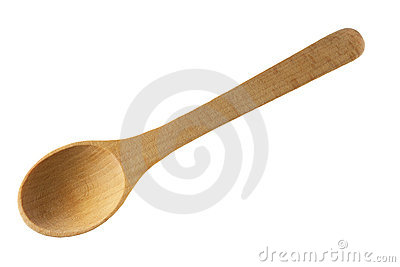 New wooden spoon