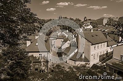 New World street, Pragues old town, Czech Republic