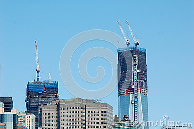 New World Trade Center, 2012 Editorial Stock Photo
