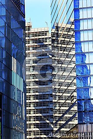 Free New World Trade Center Abstract Glass Buildings Skyscraper New York NY Stock Photo - 44642240
