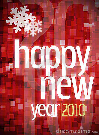 Free New Year 2010 Stock Image - 11952031