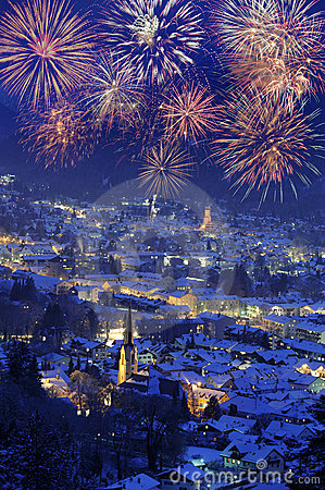 Free New Year 2011 Firework Royalty Free Stock Photography - 11580837