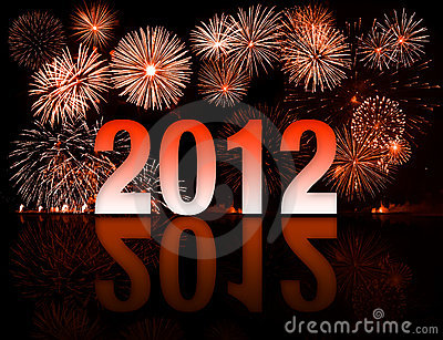 new year 2012 concept