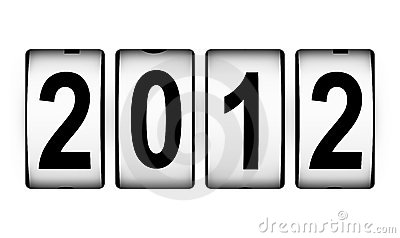 New Year 2012 counter