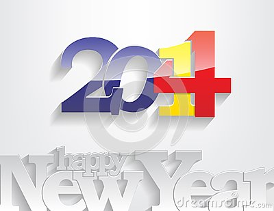 New year 2014 background.