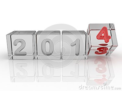 New year 2014 box